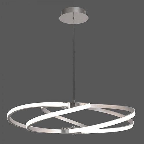 Dominica Pendant/76cm LED 3000K Silver/Chrome