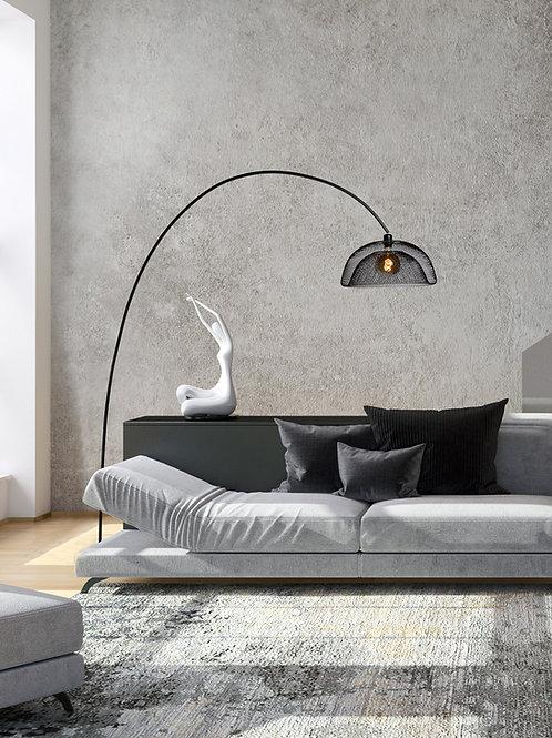 MESH - Floor lamp - Ø 46 cm - 1xE27 - Black