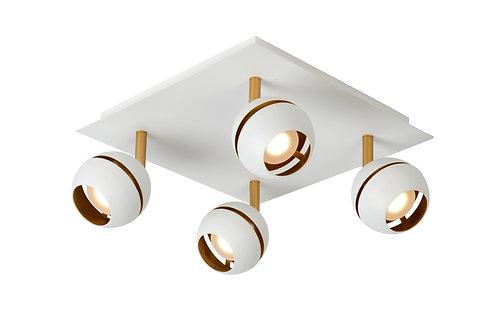 BINARI - Ceiling spotlight - LED - 4x5W 2700K - Black
