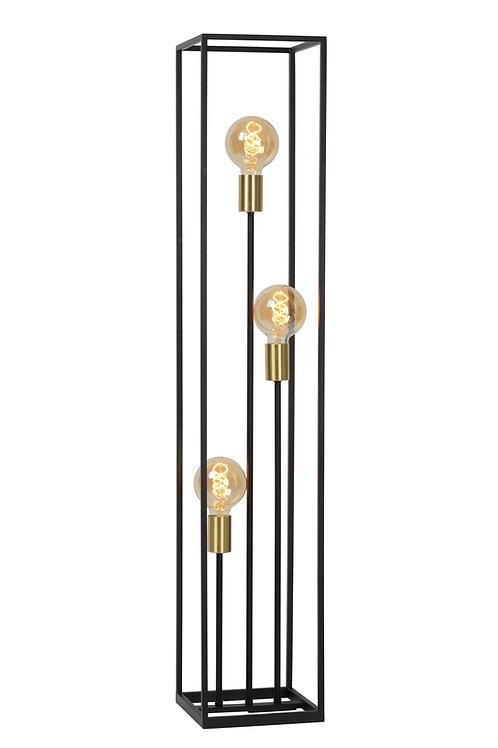 RUBEN - Floor lamp - 3xE27 - Black