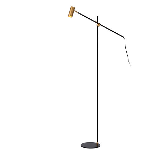 PHILINE - Floor reading lamp - 1xGU10 - Black