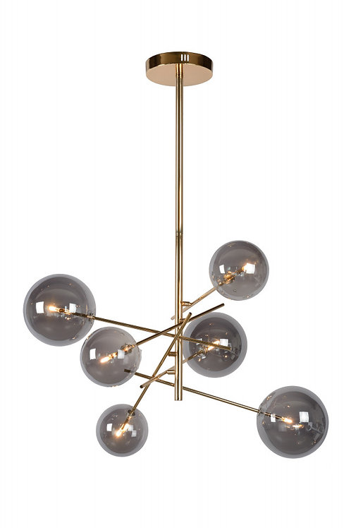 ALARA - Pendant light - Ø 72 cm - LED - G4 - 6x1,5W 2700K - Gold