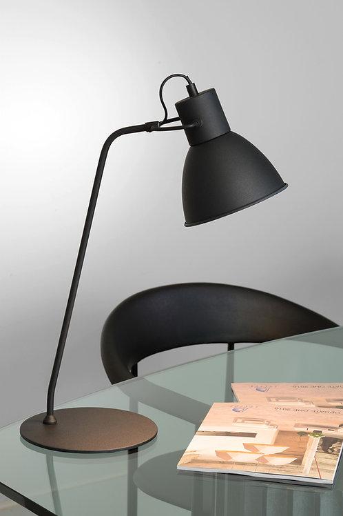 SHADI - Desk lamp - Ø 20 cm - 1xE14 - Black