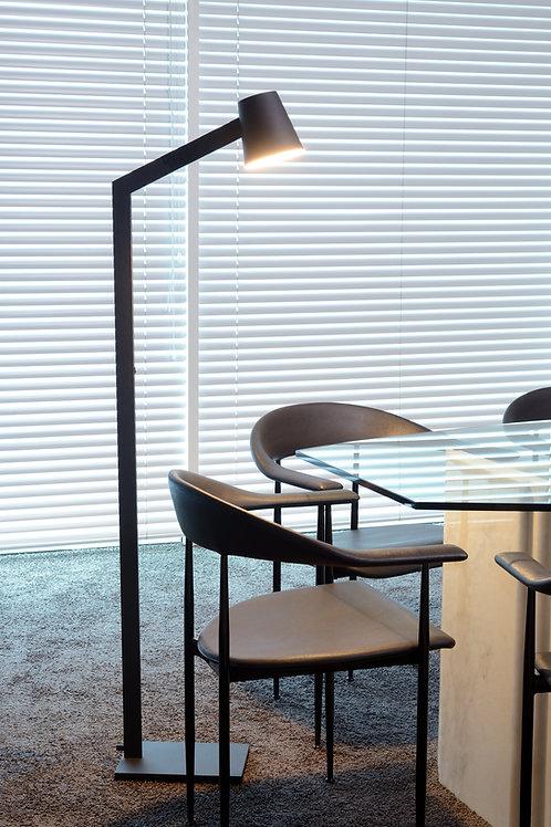 MIZUKO - Floor reading lamp - Ø 13 cm - 1xE14 - Black