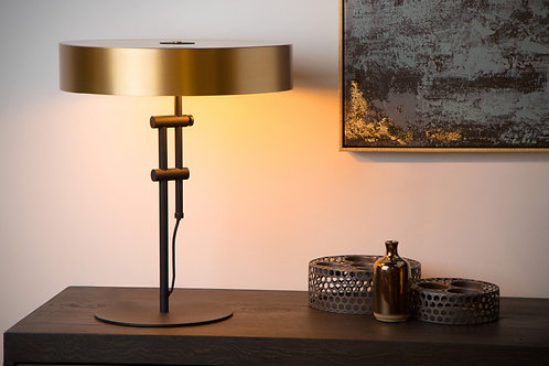 GIADA - Table lamp - Ø 40 cm - 2xE27 - Matt Gold / Brass