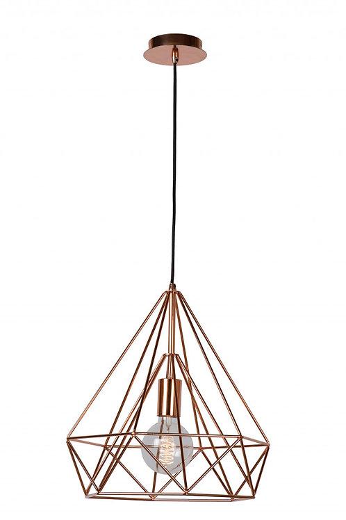 RICKY - Pendant light - 1xE27 - Copper