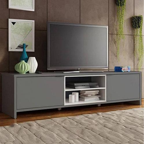 Móvel TV Trend Ref: 01828  BRANCO/CINZA