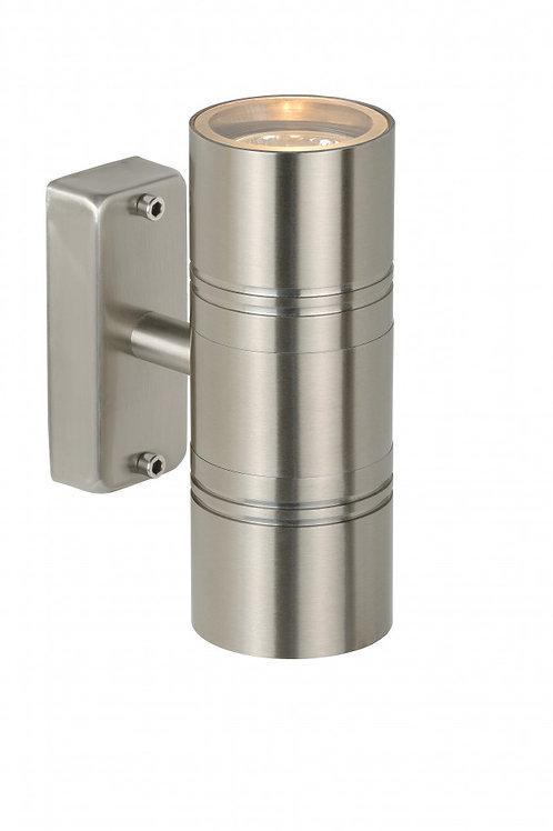 ARNE-LED - Wall light Outdoor - Ø 6,3 cm - LED - GU10 - 2x5W 2700K - IP44 - Sati