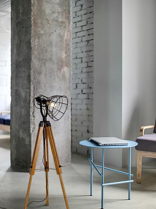 JOSHUA - Floor lamp - Ø 42 cm - 1xE27 - Black