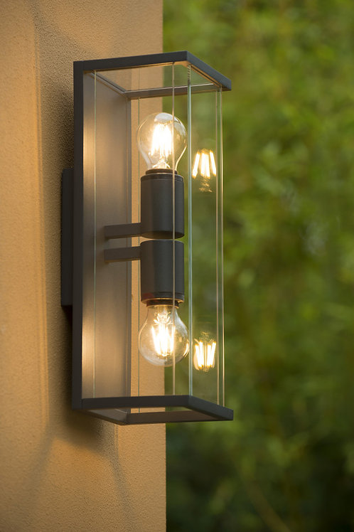 CLAIRE - Wall light Outdoor - 2xE27 - IP54 - Anthracite