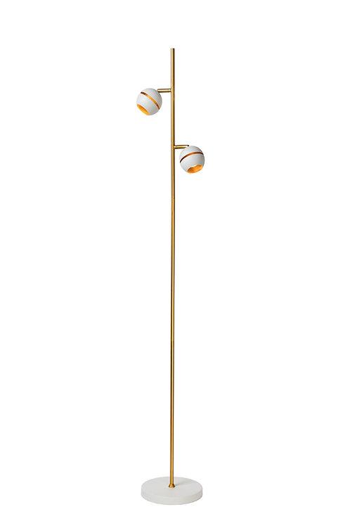 BINARI - Floor lamp - Ø 20 cm - LED - 2x4,5W 2700K - White