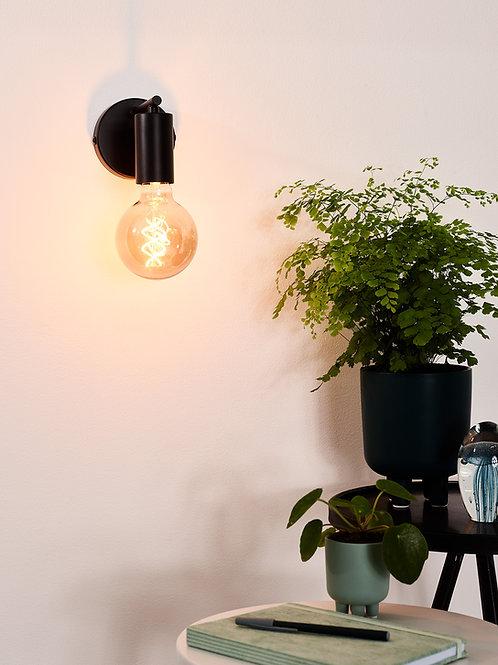 LEANNE - Wall light - 1xE27 - Black