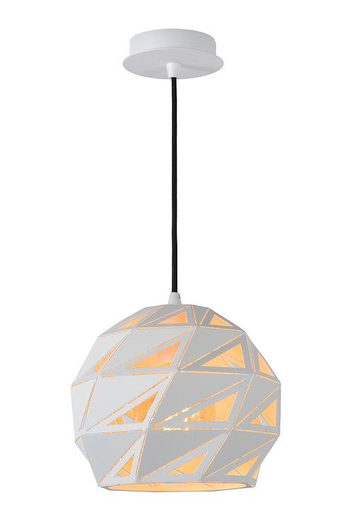 MALUNGA - Pendant light - Ø 25 cm - 1xE27 - White