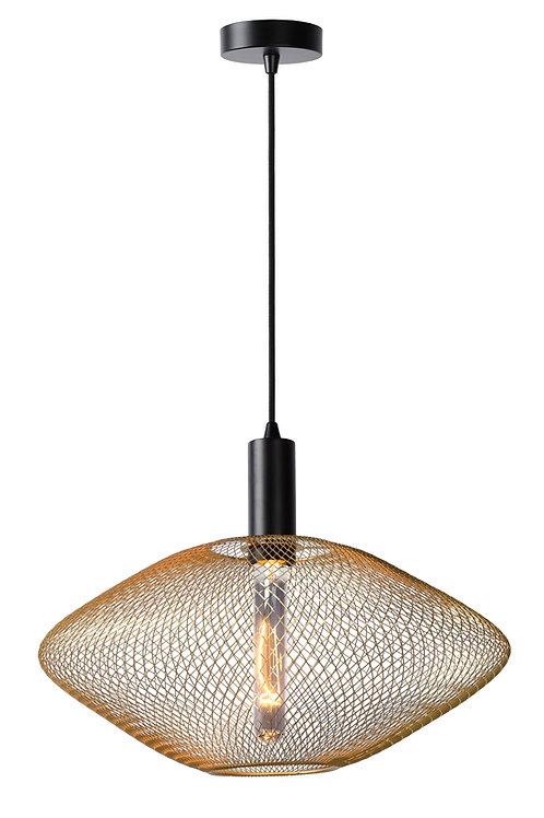 MESH - Pendant light - Ø 45 cm - 1xE27 - Matt Gold / Brass