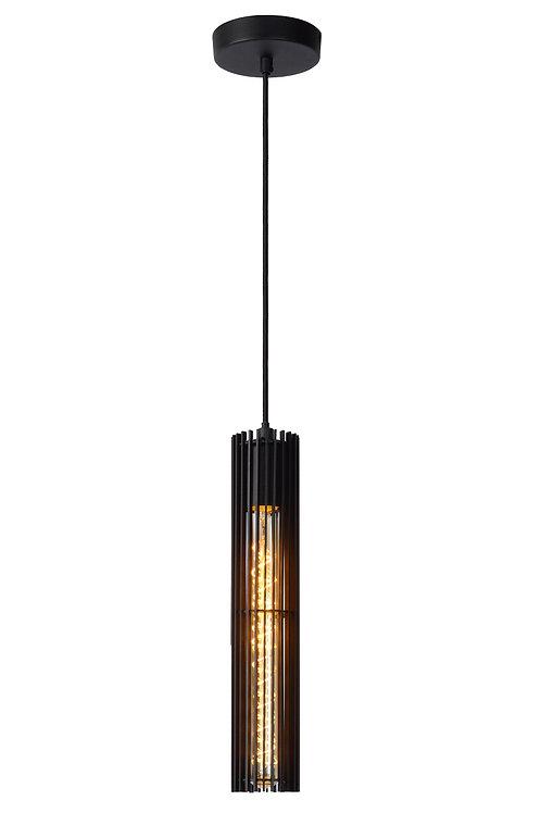 LIONEL - Pendant light - Ø 6,5 cm - 1xE27 - Black