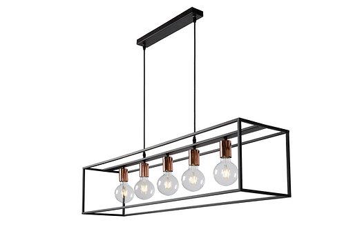 ARTHUR - Pendant light - 5xE27 - Black