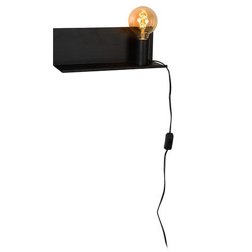 SEBO - Bedside lamp - 1xE27 - Black
