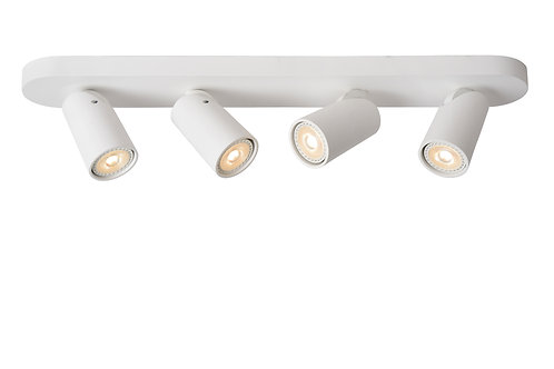 XYRUS - Ceiling spotlight - LED Dim to warm - GU10 - 4x5W 2200K/3000K - White