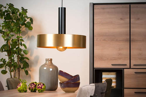 GIADA - Pendant light - Ø 50 cm - 1xE27 - Matt Gold / Brass