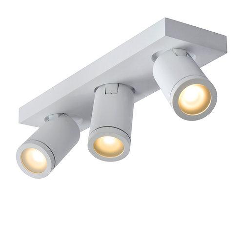 TAYLOR - Ceiling spotlight Bathroom - LED Dim to warm - GU10 - 3x5W 2200K/3000K