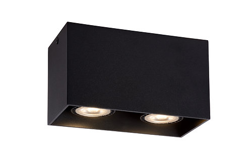 BODI - Ceiling spotlight - 2xGU10 - Black
