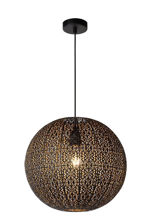 TAHAR - Pendant light - Ø 38,5 cm - 1xE27 - Black