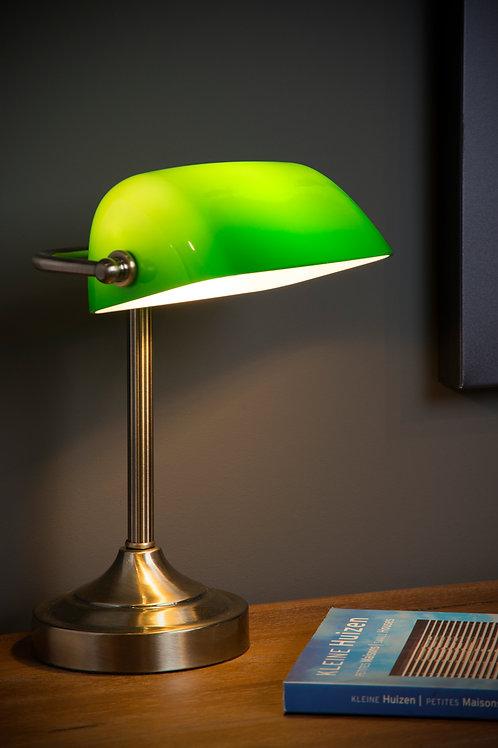 BANKER - Desk lamp - 1xE14 - Bronze