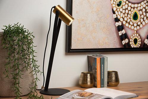 JANTUANO - Desk lamp - Ø 18 cm - LED Dim. - GU10 - 1x5W 3000K - 3 StepDim - Blac