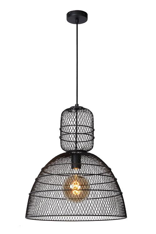 GASSET - Pendant light - Ø 42,5 cm - 1xE27 - Black