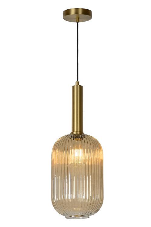 MALOTO - Pendant light - Ø 20 cm - 1xE27 - Amber