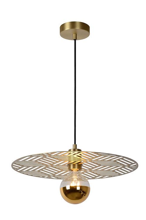 OLENNA - Pendant light - Ø 40 cm - 1xE27 - Matt Gold / Brass