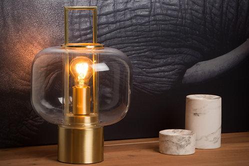 SOFIA - Table lamp - Ø 24 cm - 1xE27 - 3 StepDim - Matt Gold / Brass