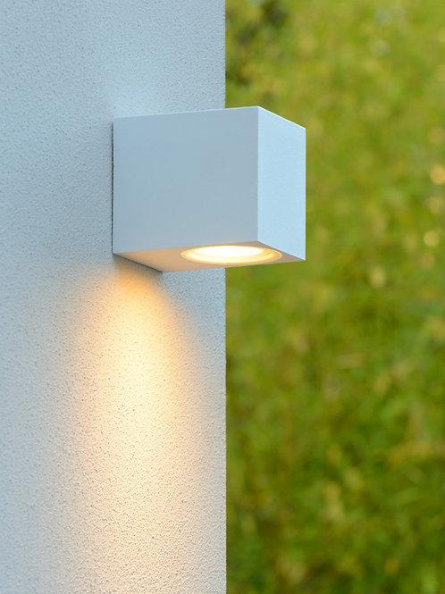 ZORA-LED - Wall spotlight Outdoor - LED Dim. - GU10 - 1x5W 3000K - IP44 - White