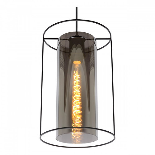 DOUNIA - Pendant light - Ø 25 cm - 1xE27 - Black