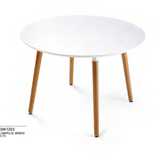Mesa branca c/pes