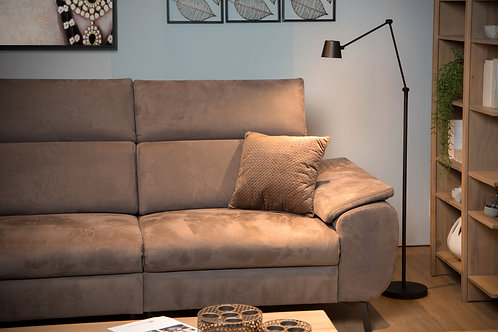 JORIUS - Floor reading lamp - Ø 23 cm - LED Dim. - 1x8W 3000K - Black