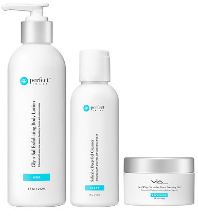 The Salicylic body daily use set