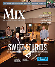 Sweetwater Studios Mix Magazine Cover.jp