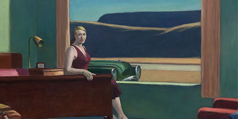 """Lecture on """"Edward Hopper and the American Hotel"""""""