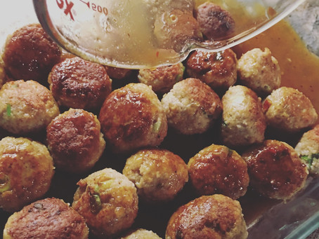 Turkey Glazed Meatballs