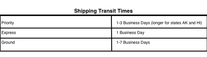 SGT TROYS | Shipping & Returns