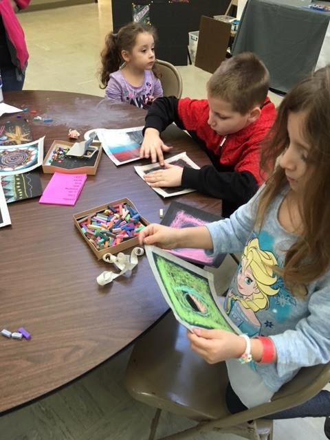Children love to create!