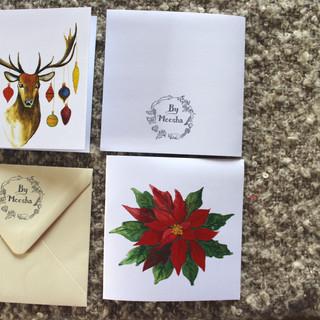 Vánoční jelen a Vánoční hvězda