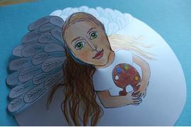 anděl s paletou