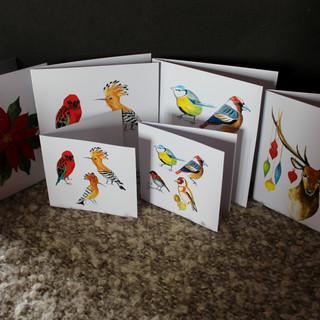 Ptáci I. a II., Vánoční hvězda a Vánoční jelen