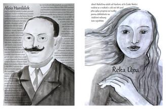 Alois Hurdálek a řeka Úpa