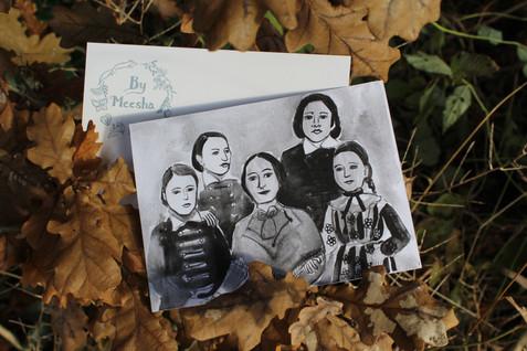 Božena Němcová se svými dětmi