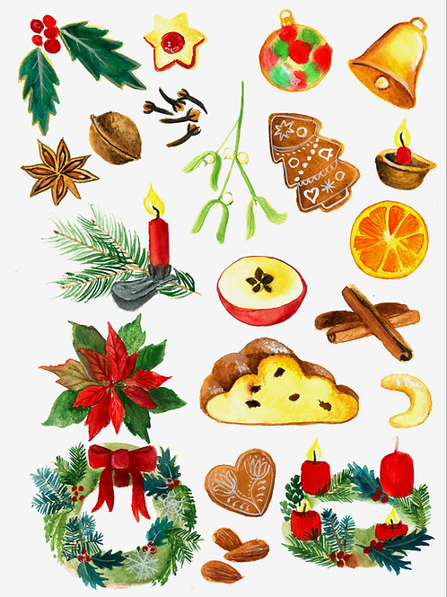 Plakát Vánoční detaily