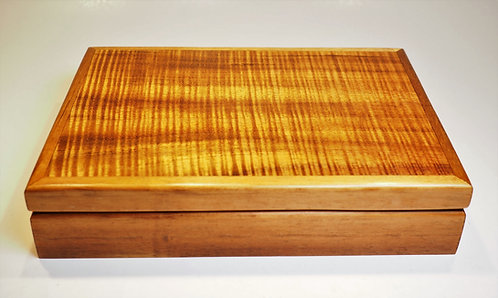 Medium Koa Jewelry Box