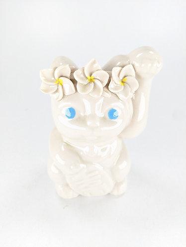 Porcelain Good Luck Neko (cat)